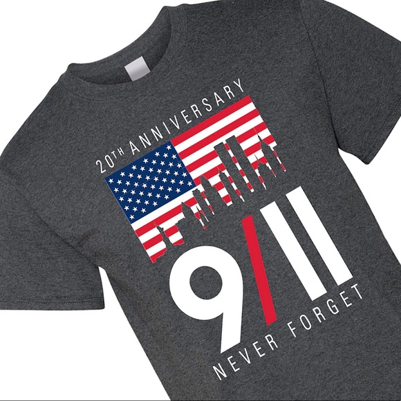 911 20th Anniversary Graphic Tee
